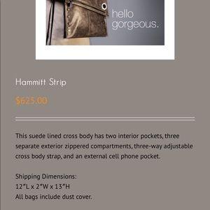 "Hammitt Bags - Hammitt ""the strip"" bag NWOT"